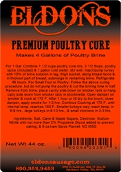 Poultry Brine/Cure