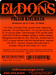 Polish/Kielbasa Seasoning