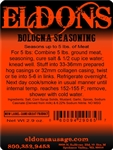 Eldon's Premium Bologna and Hot Dog Seasoning