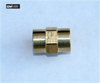 "Brass 1/4"" Coupler"