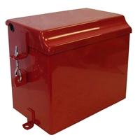 Battery Box with Lid -- Farmall M series 51707D