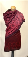 Pink Paisley Cashmere/Silk