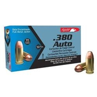 AGUILA .380 AUTO 95 GR 50 RND BOX FMJ *NO LIMITS*