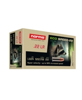 NORMA ECO SPEED-22  22LR 24GR 1706 FPS 50 ROUNDS