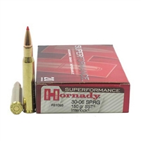 HORNADY 30-06 SPRG 150 GR SST SUPERFORMANCE 20 RND BOX