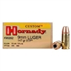 HORNADY CUSTOM 9MM LUGER 147 GR XTP 25 RND BOX