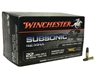WINCHESTER 22LR SUBSONIC 42 MAX HP 500 RND BOX