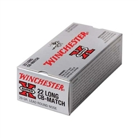 WINCHESTER 22 LONG 50 RND BOX 29GR 770FPS CB-MATCH LRN * NO LIMITS* FAST SHIPPING