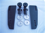 Vibra-Stop 30HP-115HP outboard motor pads with bushings, complete kit - Model MDRNG-VSKNK