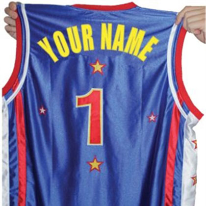 CUSTOMIZED JERSEY