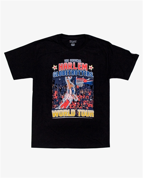 Harlem Globetrotters World Tour T-shirt