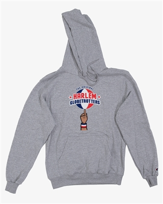 HARLEM GLOBETROTTERS HOODED SWEATSHIRT by Champion