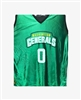 WASHINGTON GENERALS #0 REPLICA JERSEY