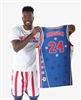 Dragon #24 - Harlem Globetrotters Iconic Replica Jersey by Champion