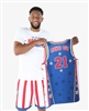 Lights Out #21 - Harlem Globetrotters Iconic Replica Jersey by Champion