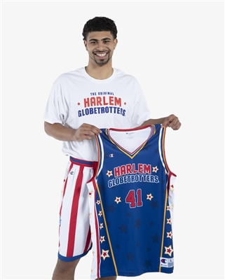 Sweet Lou II #41 - Harlem Globetrotters Iconic Replica Jersey by Champion