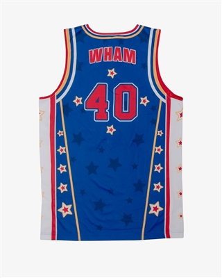 Wham #40 - Harlem Globetrotters Iconic Replica Jersey by Champion