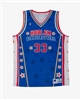 Bull #33 - Harlem Globetrotters Iconic Replica Jersey by Champion
