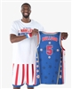 Bulldog #5 - Harlem Globetrotters Iconic Replica Jersey by Champion
