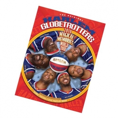 2010 HARLEM GLOBETROTTERS YEARBOOK/PROGRAM