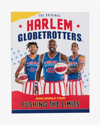 2020 Harlem Globetrotters Yearbook/Program