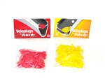 Veloplugs - Bag of 72 (Red or Yellow)