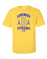 Remember Boston Strong Men's T-Shirt (843)