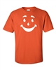 Smiley Funny Face Men's T-Shirt (941)