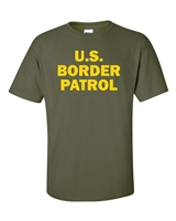 US Border Patrol Men's T-Shirt (945)