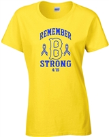 Remember Boston Strong LADIES T-Shirt (843)