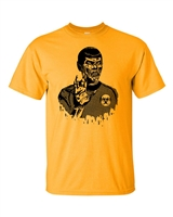 Zombie Star Trek Spock Men's T-Shirt  (993)