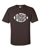 Sunday Funday Football Men's T-Shirt (401)