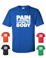 Pain is Weakness Leaving The Body Men's T-Shirt (350)