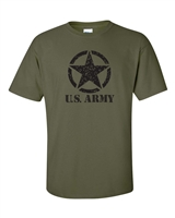 U.S. Army Star in Circle Men's T-Shirt (463)