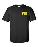 FBI Federal Bureau of Investigation Front & Back Men's T-Shirt (241)