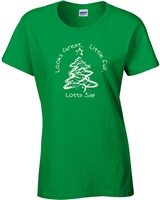 Griswold Christmas Tree Looks great-little full-lotta sap LADIES T-Shirt (499)