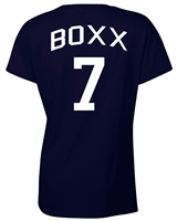 Shannon Boxx US Women's Soccer Front & Back JUNIOR FIT Ladies  T-Shirt (1086)