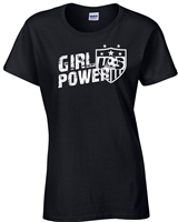 Girl Power USA Women's Soccer Team JUNIOR FIT Ladies T-Shirt (1185)