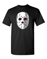 Friday the 13th Jason Halloween Mask Men's T-Shirt (1261)