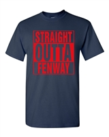 Straight Outta Fenway Men's T-Shirt (1355)