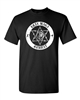 Krav Maga Combat Circle IDF Printed on the FRONT Men's T-Shirt (1360)