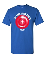 The Lord is My Shield Psalm 3 Men's T-Shirt (1393)