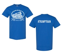 #TrumpTrain Donald For President 2016 Front & Back Men's T (1397)