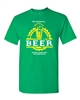 Beer-The Answer is BEER Men's T-Shirt (1433)
