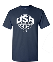 USA Men's Basketball Team Men's T-Shirt FRONT ONLY (1445)