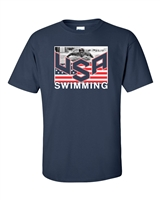 USA Swimming Team Michael Phelps Men's T-Shirt (1450)