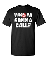 Who Ya Gonna Call? Ghostbusters Men's T-Shirt (1478)