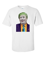 Joker Donald Trump For President Sublimation Printed Men's T-Shirt