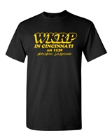 WKRP In Cincinnati More Music Les Nessman Men's T-Shirt (1481)