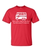 Mom Says I Ride The Short Bus to School Men's T-Shirt